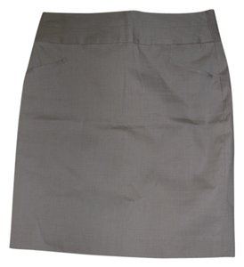 Banana Republic Mini Skirt Khaki