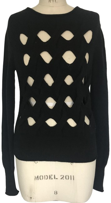 Preload https://img-static.tradesy.com/item/24632298/helmut-lang-cut-out-black-sweater-0-1-650-650.jpg