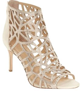 Imagine by Vince Camuto Bootie Caged Gold Sandals