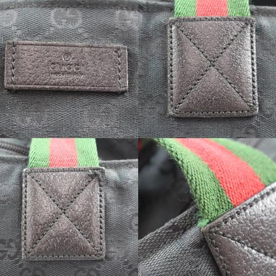 Gucci Satchel in Black Image 7