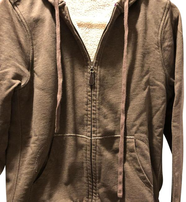 Preload https://img-static.tradesy.com/item/24632326/jcrew-brown-sherpa-lined-sweatshirthoodie-size-8-m-0-1-650-650.jpg