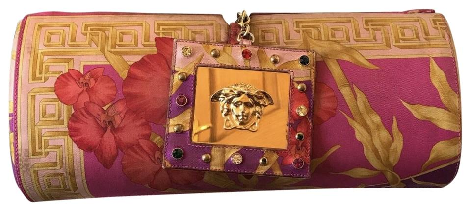 95ad9de005 Versace Gianni Limited Edition Vintageversace Versacebag Multicolorversace  multicolor Clutch Image 0 ...