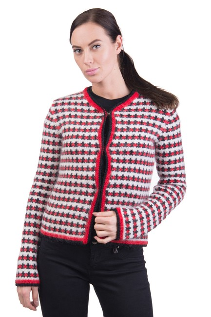 Preload https://img-static.tradesy.com/item/24632442/moncler-women-s-wool-mohair-blend-tweed-red-40xs-cardigan-size-2-xs-0-2-650-650.jpg