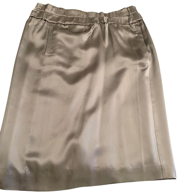 J.Crew Silver Skirt Size 4 (S, 27) J.Crew Silver Skirt Size 4 (S, 27) Image 1