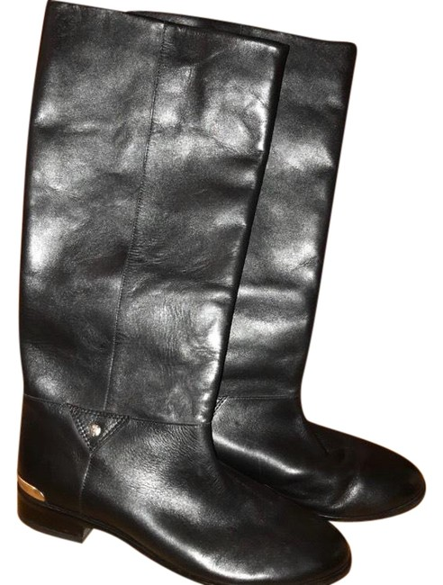 Twelfth St. by Cynthia Vincent Black Leather Gabbie Boots/Booties Size US 8.5 Regular (M, B) Twelfth St. by Cynthia Vincent Black Leather Gabbie Boots/Booties Size US 8.5 Regular (M, B) Image 1
