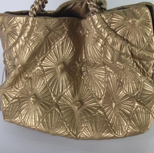 Chanel Tote in Gold Image 2