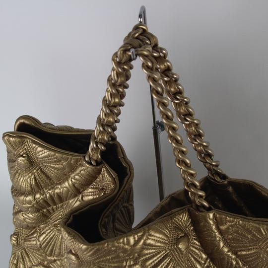 Chanel Tote in Gold Image 4