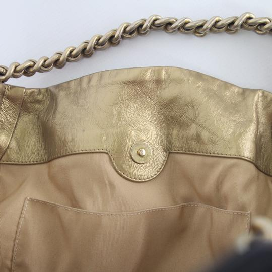 Chanel Tote in Gold Image 9