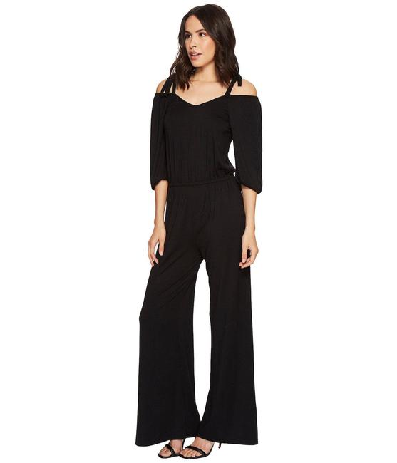 Rachel Pally Black Geordi Romper/Jumpsuit Rachel Pally Black Geordi Romper/Jumpsuit Image 1
