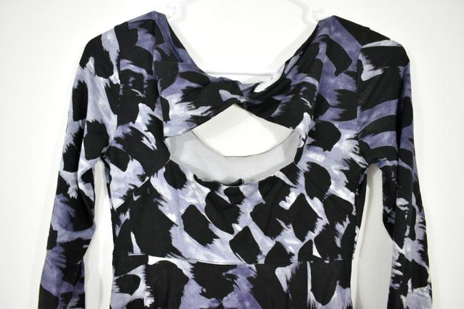 A|X Armani Exchange short dress A-line Skater Longsleeve Print Keyhole on Tradesy Image 6