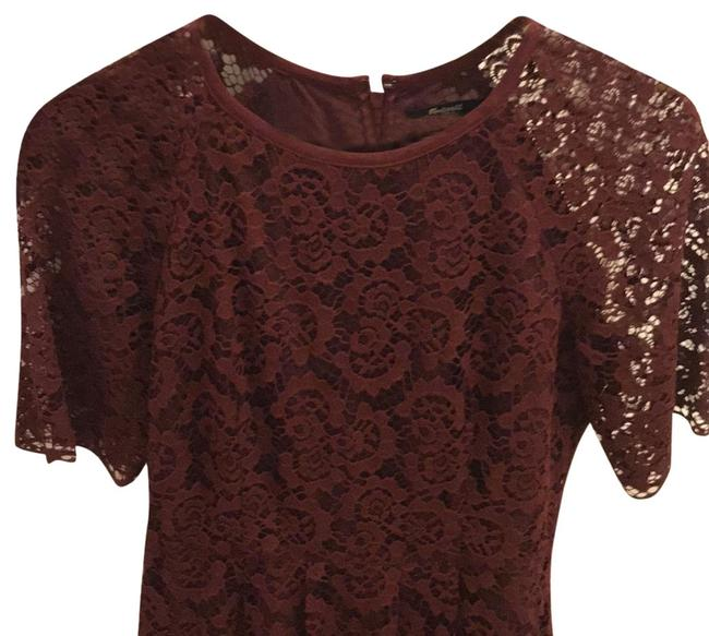 Preload https://img-static.tradesy.com/item/24632844/madewell-burgundy-lace-workcocktail-mid-length-cocktail-dress-size-2-xs-0-1-650-650.jpg