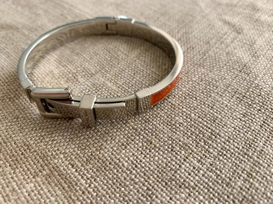Michael Kors Bright orange and silver buckle bracelet Image 5