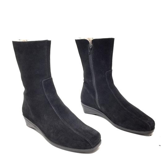 Preload https://img-static.tradesy.com/item/24632853/la-canadienne-black-suede-shearling-lined-zip-up-mid-calf-wedge-bootsbooties-size-us-8-extra-wide-ww-0-0-540-540.jpg