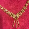 Gold Rhinestone Couture Jewelry Set Image 2
