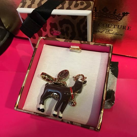 Juicy Couture NWT!! JUICY COUTURE SUPER RARE REINDEER 2014 LIMITED EDITION CHARM! Image 2