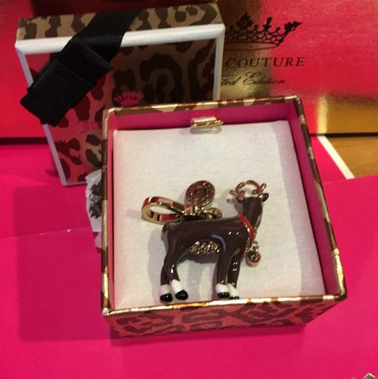 Juicy Couture NWT!! JUICY COUTURE SUPER RARE REINDEER 2014 LIMITED EDITION CHARM! Image 3