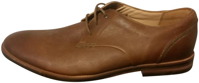 Clarks Brown Men's Casual Lace-ups Formal Leather Dress Flats Size US 10 Regular (M, B) Clarks Brown Men's Casual Lace-ups Formal Leather Dress Flats Size US 10 Regular (M, B) Image 1