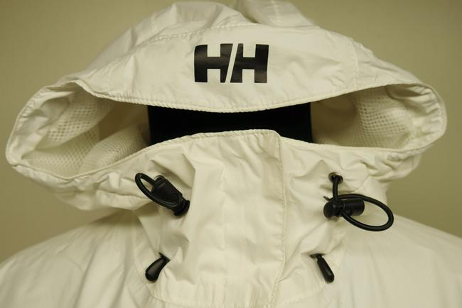 Helly Hansen Packable Nylon Water-repellant Windproof White Jacket Image 5