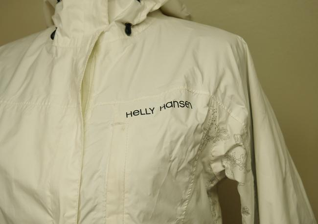 Helly Hansen Packable Nylon Water-repellant Windproof White Jacket Image 6