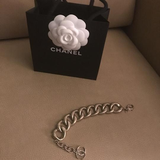 Chanel Chunky Chain Link Logo Image 4