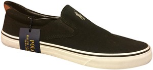 Polo Ralph Lauren Mens Mens Black Flats