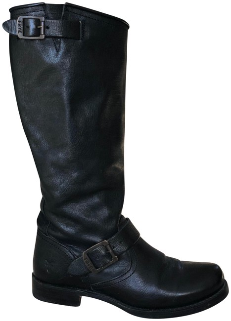 Frye Black Veronica Slouch Boots/Booties Size US 7 Regular (M, B) Frye Black Veronica Slouch Boots/Booties Size US 7 Regular (M, B) Image 1