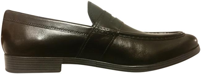 Item - Black American Classic Leather Penny Loafer Flats Size US 11 Regular (M, B)