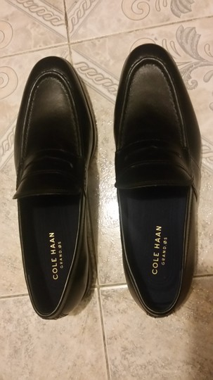 Cole Haan #leather #penny Loafer #grand.os Technology black Flats Image 1