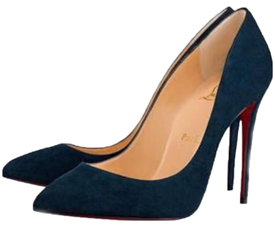 1e990ce8229a Christian Louboutin Quartz (Teal Blue) Pigalle Follies 100 Suede Heels  Pumps. Size  EU 37 (Approx. US 7) ...