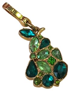 Juicy Couture NEW JUICY COUTURE SUPER RARE GREEN AND TEAL STONE PEAR STONE DROP NECKLACE OR BRACELET CHARM!!