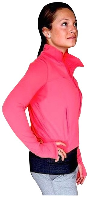 Item - Hot Pink Tadasana Activewear Outerwear Size 8 (M)
