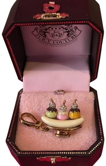 Juicy Couture NWT JUICY COUTURE BANANA SPLIT NECKLACE OR BRACELET CHARM!! Image 0