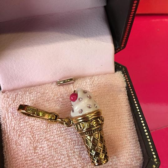Juicy Couture NWT JUICY COUTURE SOFT SERVE ICE CREAM CONE NECKLACE OR BRACELET CHARM!! Image 1