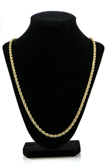Twist Rope Chain Necklace 44.6 Grams Twist Rope Chain Necklace Image 3