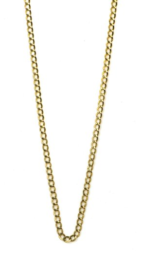 Curb Chain Link Necklace Curb Link Chain Necklace Image 1