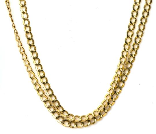 Curb Chain Link Necklace Curb Link Chain Necklace Image 5