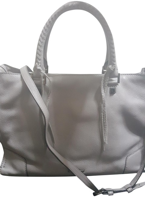 Item - Regan Grey Leather Satchel