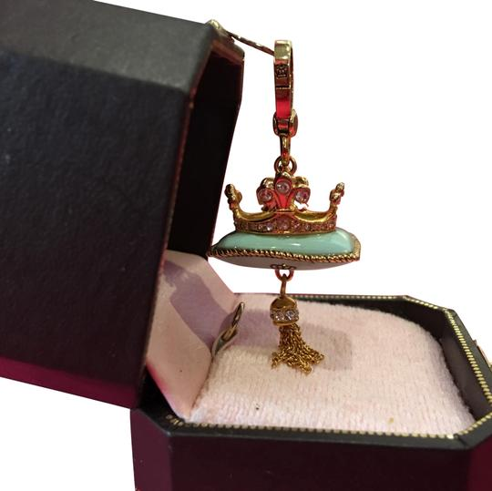 Preload https://img-static.tradesy.com/item/24633493/juicy-couture-super-rare-pave-stone-teal-crown-pillow-for-your-necklace-or-bracelet-charm-0-2-540-540.jpg