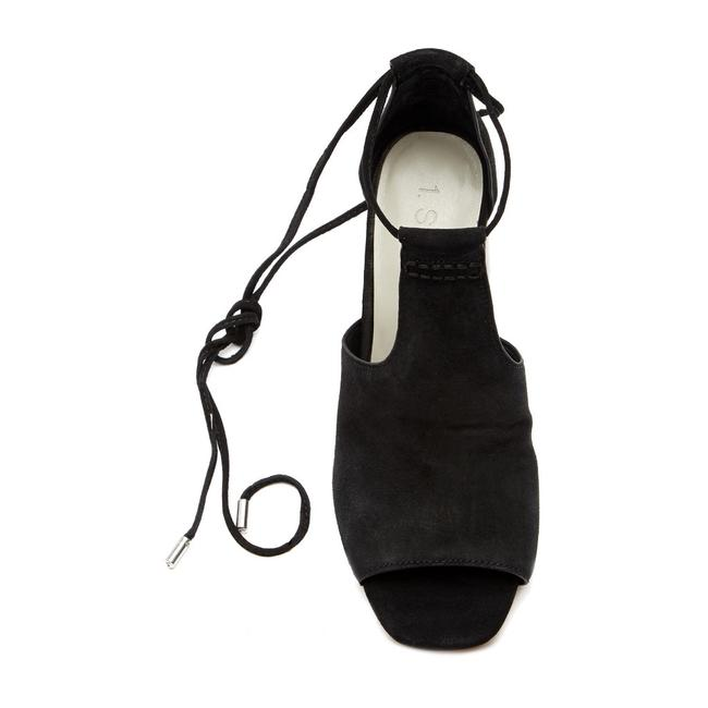 Item - Black -- Tilya Suede Heel Sandals Size US 9.5 Regular (M, B)