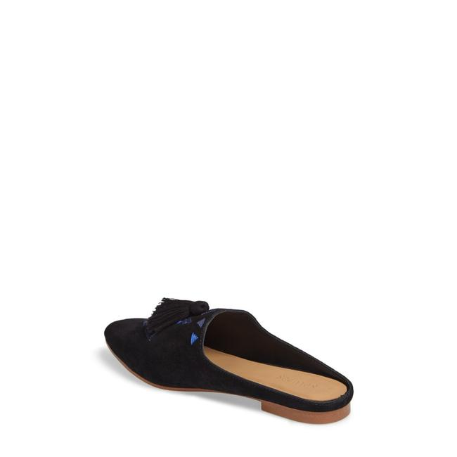 Soludos Black Embroidered Mule Flats Size US 8 Regular (M, B) Soludos Black Embroidered Mule Flats Size US 8 Regular (M, B) Image 1