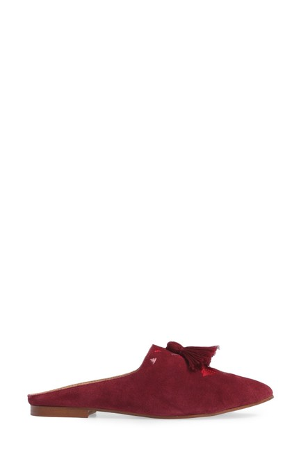 Soludos Wine Embroidered Mule Flats Size US 9 Regular (M, B) Soludos Wine Embroidered Mule Flats Size US 9 Regular (M, B) Image 1
