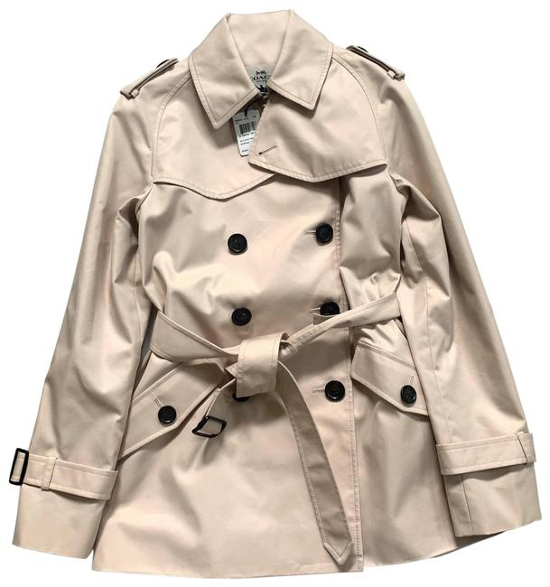 Coach Quartz Solid F86050 Coat Size 2 (XS) Coach Quartz Solid F86050 Coat Size 2 (XS) Image 1