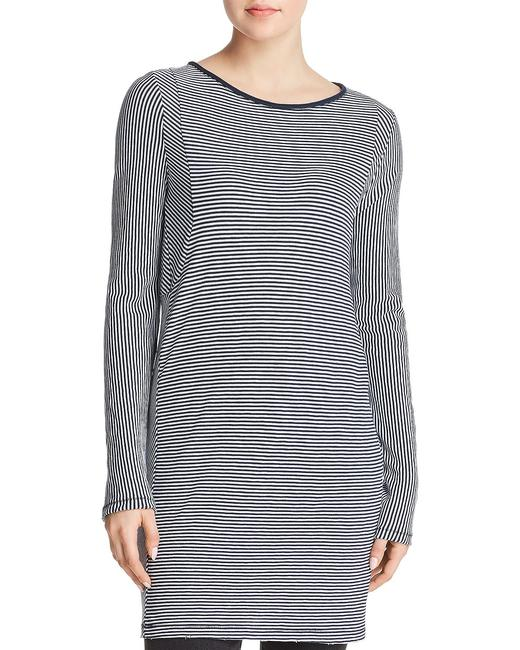Rag & Bone short dress Navy Striped Cotton Longsleeve White on Tradesy Image 2