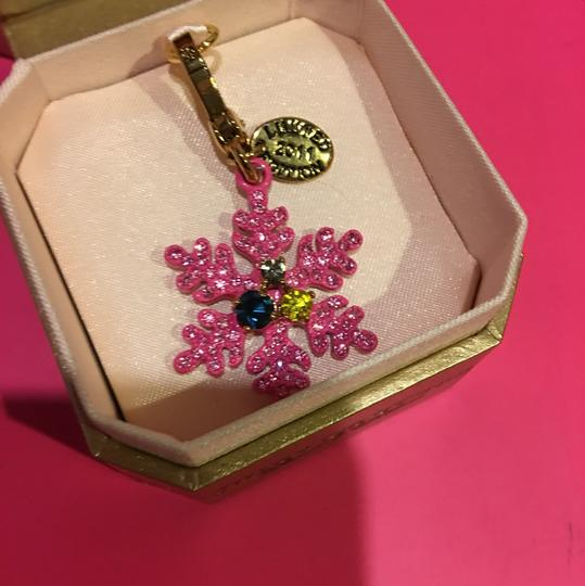 Juicy Couture NEW JUICY COUTURE LIMITED EDITION 2011 PINK SNOWFLAKE CHARM!! Image 1
