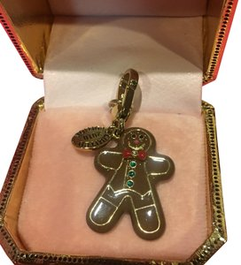 Juicy Couture NEW JUICY COUTURE LIMITED EDITION 2010 GINGERBREAD MAN CHARM!!
