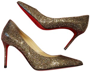 Christian Louboutin Heels Glitter Regina Decollete Multi Pumps