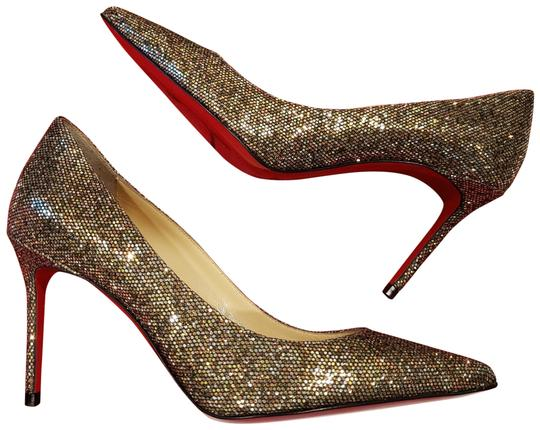 Preload https://img-static.tradesy.com/item/24633692/christian-louboutin-multicolor-decollete-554-85-glitter-regina-pumps-size-eu-355-approx-us-55-regula-0-1-540-540.jpg