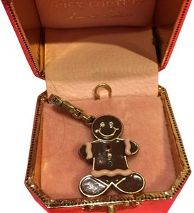Juicy Couture NEW JUICY COUTURE LIMITED EDITION 2006 GINGERBREAD MAN CHARM!!