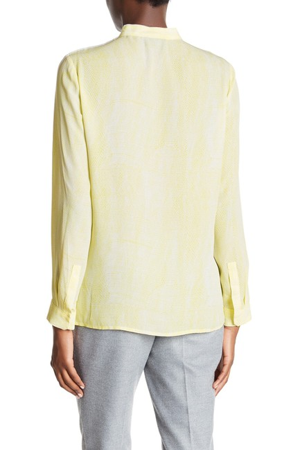 The Kooples Top Yellow/White Image 1