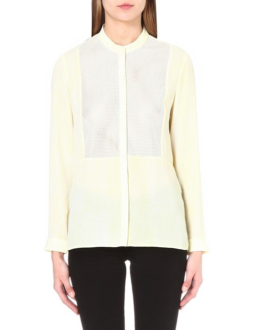 The Kooples Top Yellow/White Image 3